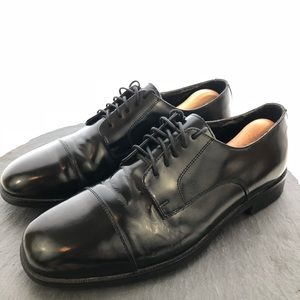 Nunn Bush Mens Cap toe dress shoes size 10.5M